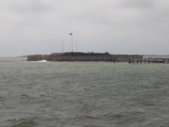Fort Sumter as it Appears Today image. Click for full size.