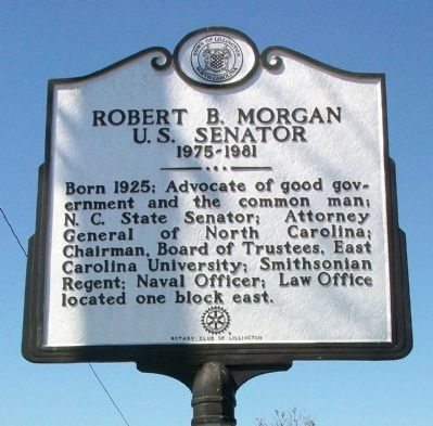 Robert B. Morgan Marker image. Click for full size.
