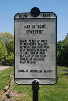 Men of Kent Cemetery Marker Photo, Click for full size