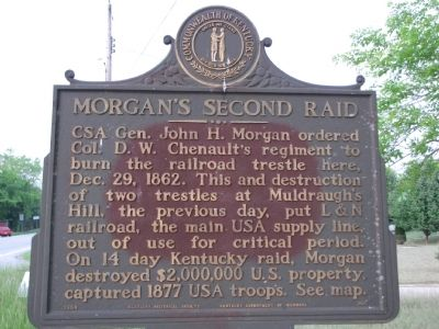 Morgan's Second Raid Marker image. Click for full size.