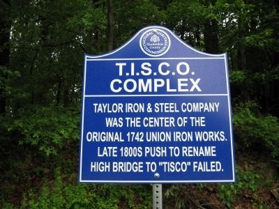 T.I.S.C.O. Complex Marker Photo, Click for full size