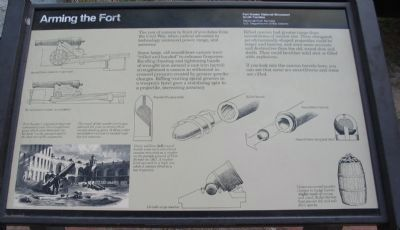 Arming the Fort Marker image. Click for full size.
