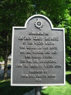 Captain Clapp Raymond Marker image. Click for full size.