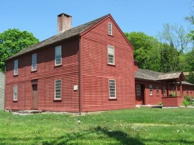 Betts-Sturges Blackmar House ca. 1740 image. Click for full size.