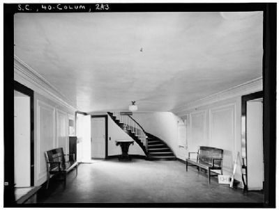 The South Caroliniana Library First floor entrance hall image. Click for full size.