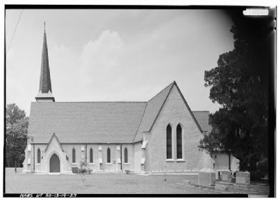 Church of the Holy Cross Stateburg South Facade image. Click for full size.