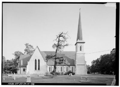 Church of the Holy Cross Stateburg North Facade image. Click for full size.