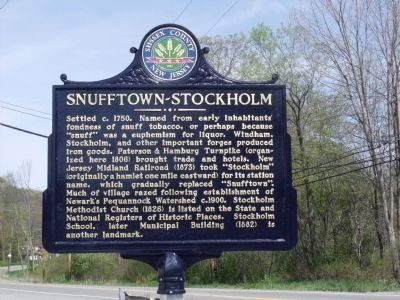 Snufftown - Stockholm Marker image. Click for full size.