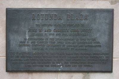 Rotunda Plaza Marker image. Click for full size.