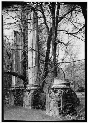Woodlands and Millwood , Millwood Portico Ruins Photo, Click for full size