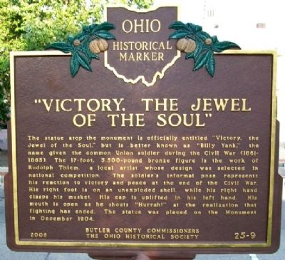 """Victory, the Jewel of the Soul"" Marker (Side B) Photo, Click for full size"