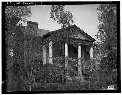 DeBruhl-Marshall House, Front (South elevation), Laurel Street image. Click for full size.