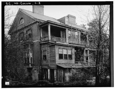 DeBruhl-Marshall House , Rear (North and east elevation) image. Click for full size.