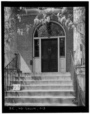 DeBruhl-Marshall House , Front door image. Click for full size.