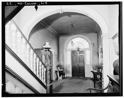 DeBruhl-Marshall House, Entrance Hall image. Click for full size.