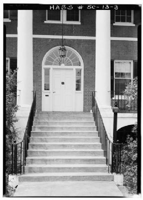 DeBruhl-Marshall House Main entrance image. Click for full size.