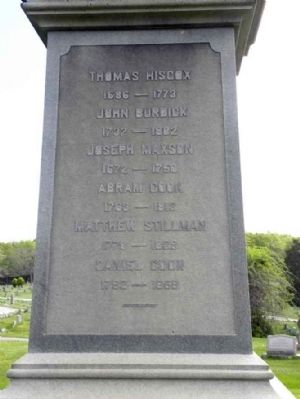 Seventh Day Baptist Minister's Monument Marker image. Click for full size.