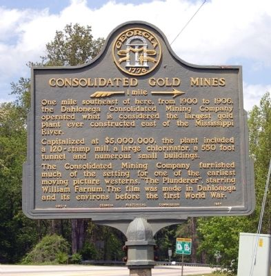 Consolidated Gold Mines Marker image. Click for full size.
