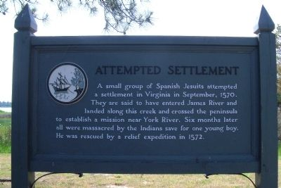Attempted Settlement Marker image. Click for full size.