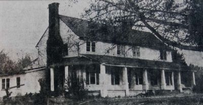 House in which Logan Log House was Found image. Click for full size.