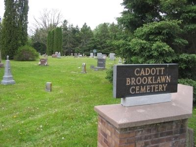 Cadott Brooklawn Cemetery image. Click for full size.