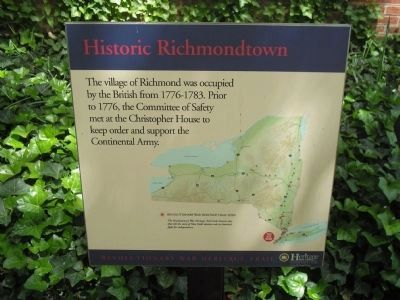 Historic Richmondtown Marker image. Click for full size.