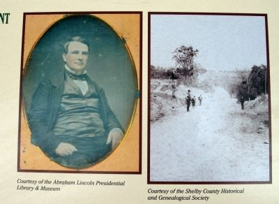 "Right Section Photos - - ""Judge David Davis"" & ""Road Conditions"" image. Click for full size."