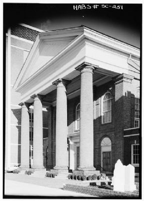First Baptist Church Portico image. Click for full size.
