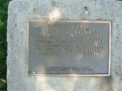 Disbrow Tavern Marker image. Click for full size.