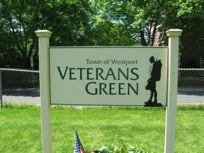 Town of Westport Veterans Green image. Click for full size.