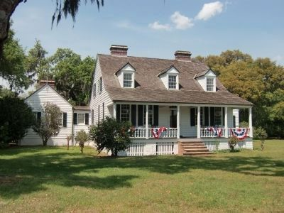 Charles Pinckney National Historic Site - Farm House image. Click for full size.