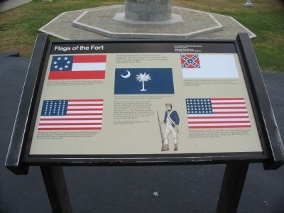 Flags of the Fort Marker Photo, Click for full size