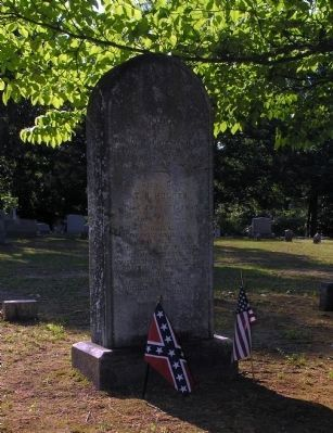 Grave of Confederate Lieutenant General Theophilus Hunter Holmes (1804-1880) image. Click for full size.