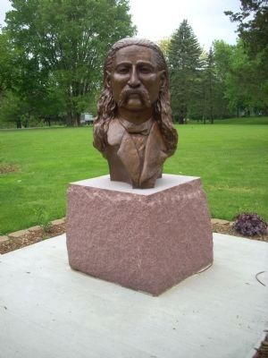 "Bronze Sculpture of James Butler ""Wild Bill"" Hickok image. Click for full size."