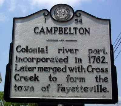 Campbelton Marker image. Click for full size.