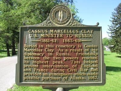 cassius marcellus clay. Cassius Marcellus Clay Marker