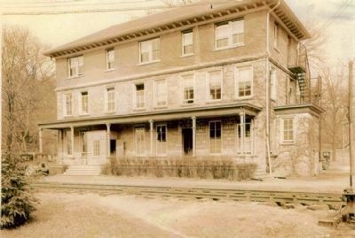 The TISCO Building after addition of the third floor. Photo, Click for full size