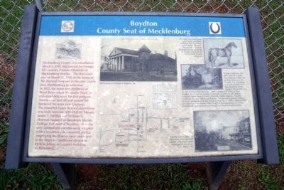 Boydton Marker Photo, Click for full size
