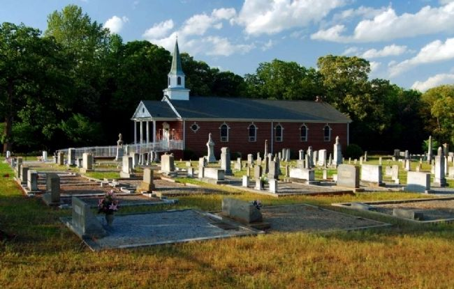 Bethel United Methodist Church and Cemetery image. Click for full size.