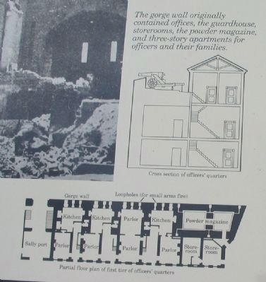 Close up of Cross Section and Floor Plan image. Click for full size.