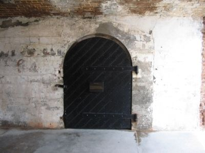 Door to Mining Casemate image. Click for full size.
