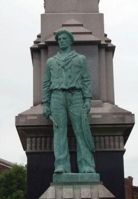 Front of Right Statue image. Click for full size.