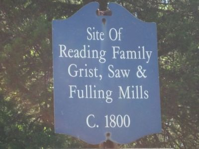 Reading Family Mills Marker image. Click for full size.
