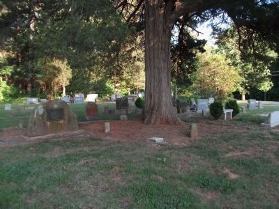 Another view of the Spring Friends Meeting Cemetery image. Click for full size.