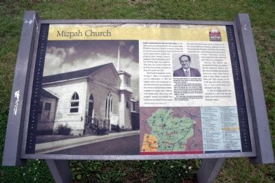 Mizpah Church CRIEHT Marker image. Click for full size.