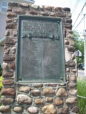 New Dorp, S.I. Honor Roll Marker image. Click for full size.