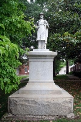 Halifax County Confederate Monument image. Click for full size.