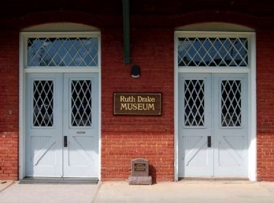 Ruth Drake Museum Entrance image. Click for full size.