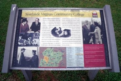 Southside Virginia Community College CRIEHT Marker image. Click for full size.