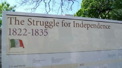 The Struggle for Independence, 1822-1835 image. Click for full size.